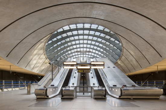Docklands Station at Canary Wharf