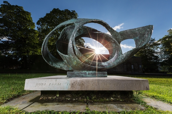 Trezion by Barbara Hepworth for the Lakeland Arts Trust