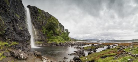eas fors, isle of mull, Scotland